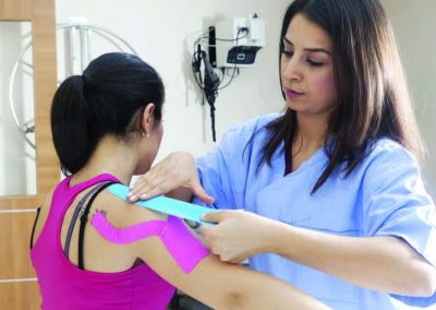 Stick to it. Implementing kinesiology taping in your practice.